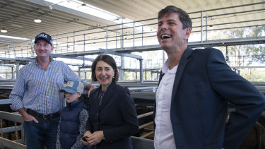 Voters 'see through cash splashes': Berejiklian's plea for Upper Hunter