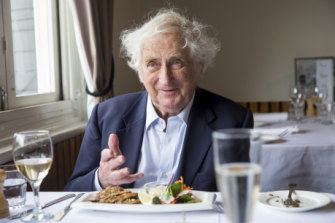 "Controversial historian Geoffrey Blainey says human behaviour ""may"" play a part in global warming."