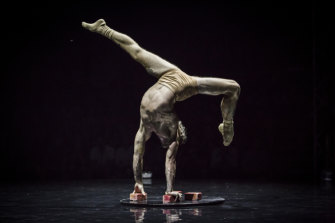 'Humans' explores the human condition through circus arts.