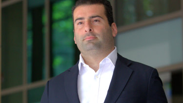 Former NAB banker Andrew Matthews.