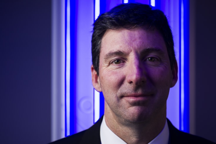 Cyber expert Nigel Phair in the new cyber security centre at UNSW.