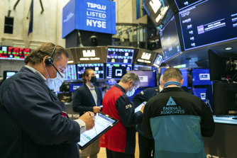 'Reopening' stocks were strong in the US overnight.
