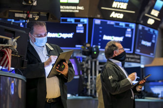 Wall Street is on track to start the week with losses.