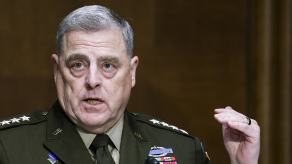'I want to understand white rage. And I'm white': top US general