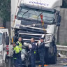 Trucking company involved in Eastern Freeway crash hit with safety breaches