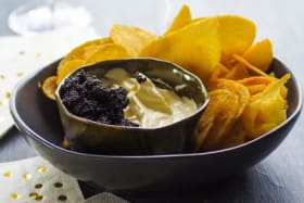 10 high-low party snacks (including this fancy chip 'n' dip)