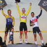 Porte seals podium place as Pogacar rides to Tour de France victory