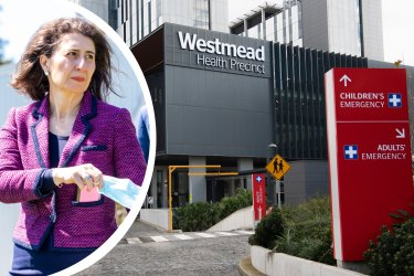 """Nurses treating COVID-19 patients at Westmead Hospital, one of western Sydney's busiest hospitals, say staffing levels are unsafe, in a dispute that will continue to be heard by the NSW Industrial Relations Commission later this month.NSW PremierGladysBerejiklian has stressed the plan for hospitals to survive the coming months depends on the system being """"technically overwhelmed in some ways""""."""