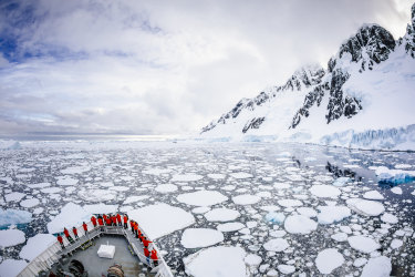"""""""Last-chance tourism"""" is how travel operators describe the urge of some to get to Antarctica """"before it melts""""."""