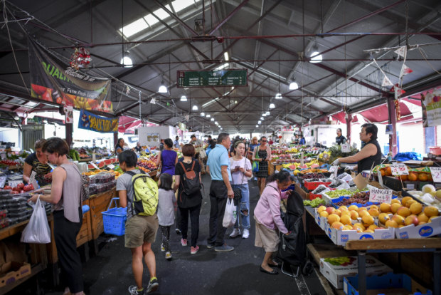 The latest plans Queen Victoria Market include new loading docks and refrigeration for fresh produce traders.