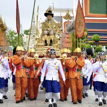 King Maha Vajiralongkorn's coronation went for three days in May 2019.