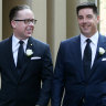 A big day at the MCA: Alan Joyce ties the knot and Richo turns 70