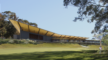 An artist's impression of Lane Cove's sport and recreation facility.
