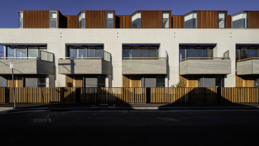 Richmond Townhouses was designed by MA Architects.