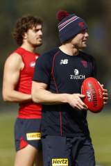 Steven May (right) is also set to return.