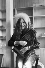 Janis Joplin in London in April 1969.
