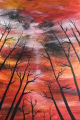 Farhad Bandesh, Australian bushfire.