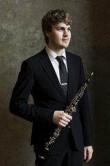 Oboeist Thomas Hutchinson.