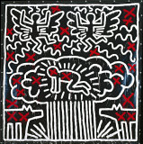 Keith Haring's Untitled (1982).
