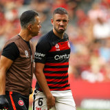 Uncertain future: Matt Jurman is in the final months of his deal with the Wanderers and could leave at the end of the season.