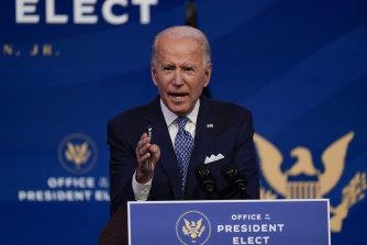 President-elect Joe Biden sees Franklin Delano Roosevelt  as his role model.