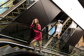 A series of roving runways will be part of a party for 1500 customers and VIPs to celebrate the relaunch of the womenswear floors at David Jones' Sydney flagship.