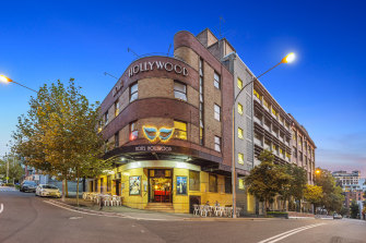 The Hollywood Hotel onFoster Street, Surry Hills, Sydney is listed for sale.