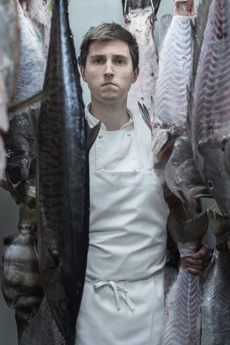 "Josh Niland's culinary philosophy encompasses not taking any fish ""that might have been trawled and ripped out of the ocean floor""."