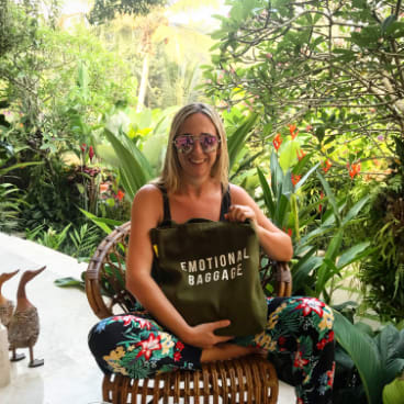 """Jill Stark was asked if she was going to Bali to """"find herself"""", a mythical achievement that has had the hard marketing sell in recent years."""