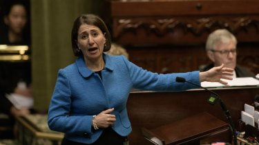 NSW Premier Gladys Berejiklian has walked away from her target to reduce domestic violence reoffending by 25 per cent by 2021, and will now aim for 2023 instead.