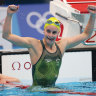 McKeown creates history with backstroke gold, Ledecky beats Titmus in 800m