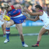 Lions down Dogs in AFLW grand final rematch