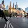 Pedestrian numbers down more than half in parts of Melbourne CBD