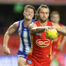 Dominant Suns toy with woeful Kangaroos