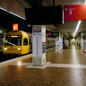 Queensland train patronage falls below 80 per cent
