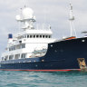 Crew of 'Twiggy' Forrest's superyacht self-isolate in Brisbane