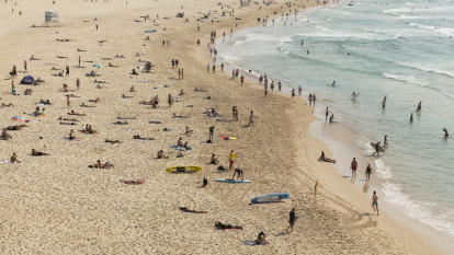 Man charged with sexually touching three teenagers at Bondi Beach