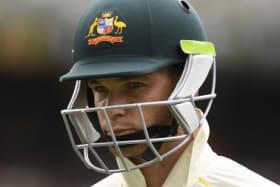 Peter Handscomb's spot in the Australian XI is in doubt.