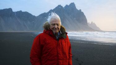 David Attenborough presents Seven Worlds, One Planet.
