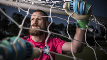 Sky Blues keeper Andrew Redmayne is a target for English clubs.