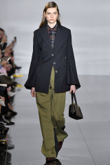 Chic cargo pants at Loewe during Paris Fashion Week in February this year.