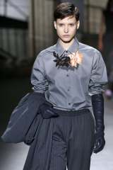 Dries Van Noten suiting at fashion week earlier this year.