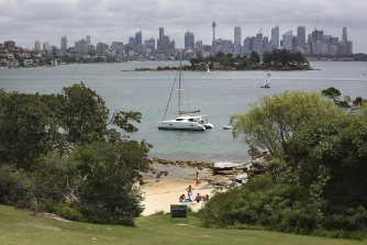 Sydney Harbour's natural beauty is holding the city back, Mr Perrottet says.