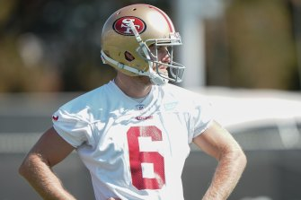 San Francisco 49ers punter Mitch Wishnowsky is considering buying himself a new car if his team gets the Super Bowl win.