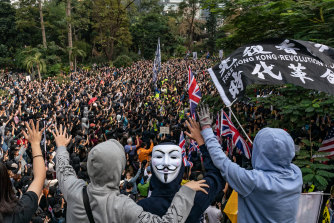 Organisers estimated tens of thousands of people attended. Police gave a more conservative figure of just over 11,000.
