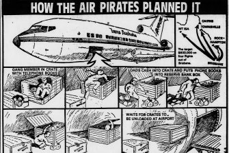 'How the air pirates planned it' - Published in The Age on September 22, 1982.
