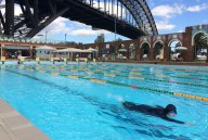 Yusra Metwally at North Sydney pool.