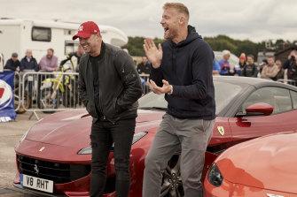 Still spinning its wheels: Top Gear UK.