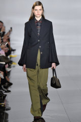 b628fc4079 Chic cargo pants at Loewe during Paris Fashion Week in February this year.
