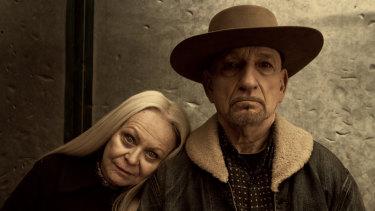 Sunset Boulevard's Golden Girl Jacki Weaver stars alongside Ben Kingsley in Perpetual Grace.